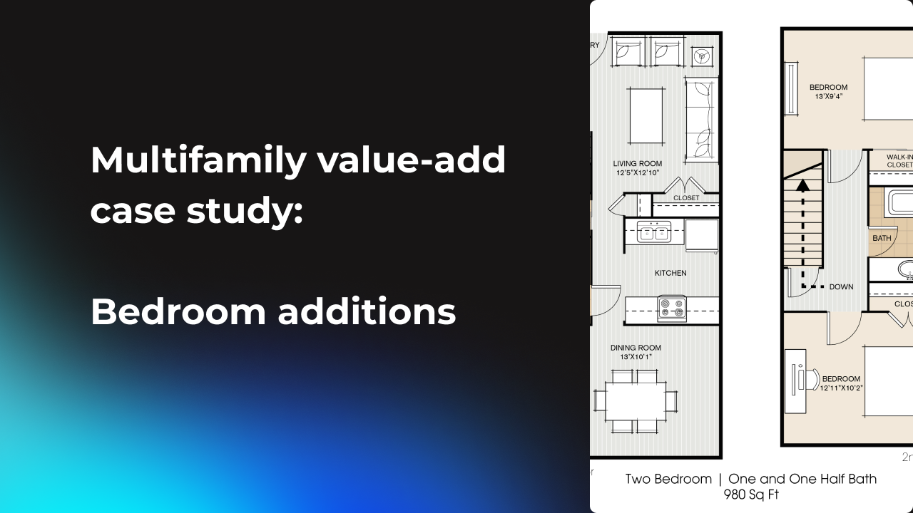 Multifamily real estate value add case study