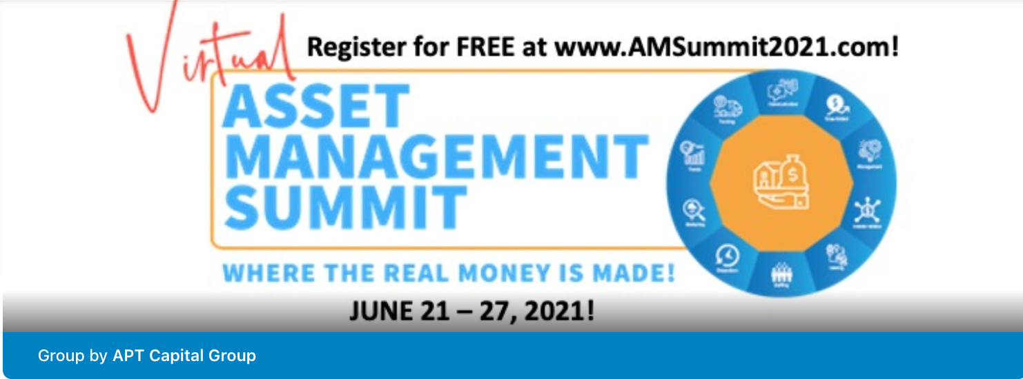 Asset Management Mastery group for real-estate syndicators