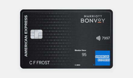 Marriott AMEX bonvoy card