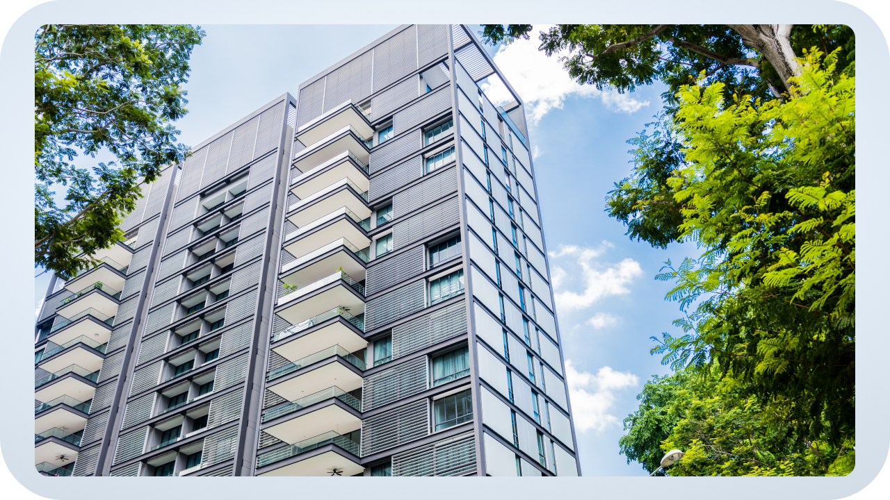 High-level multifamily property inspection